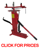 manual motorcycle tire machine