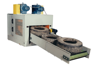 Tire Shredding Machine For Sale Rubber Recycling